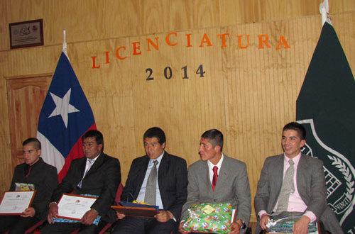 Internos del CDP Traiguén lograron su licenciatura de 4º Medio