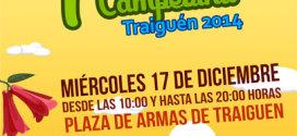 Se realiza la Primera Feria Campesina – Traiguén 2014