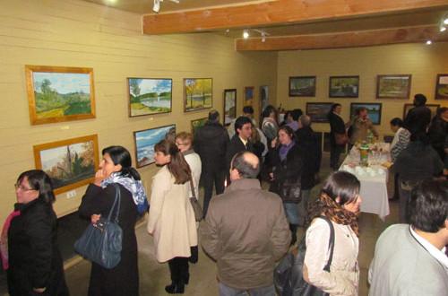 Artista Traiguenina Expone Sus Obras En Museo De Arte Contemporáneo
